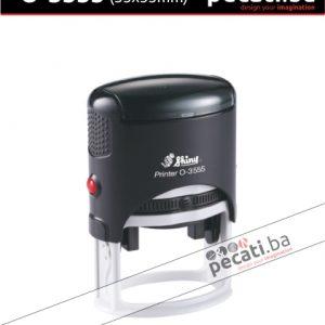 Pecat Shiny O-3555 35x55 mm - Izgled pecata