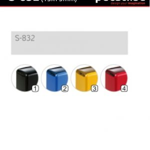 Pecat Shiny S-832 15x75 mm - dimenzija velicina dimension