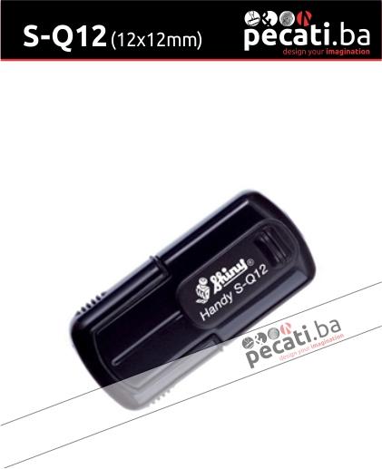 Pecat Shiny S-Q12 mm - Izgled pecata