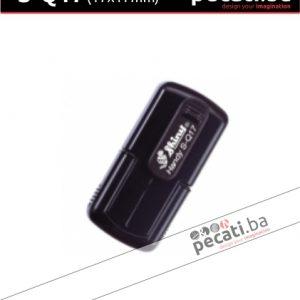 Pecat Shiny S-Q17 17x17 mm - Izgled pecata