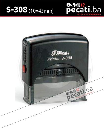 Pecat Shiny S-308 10x45 mm - Izgled pecata