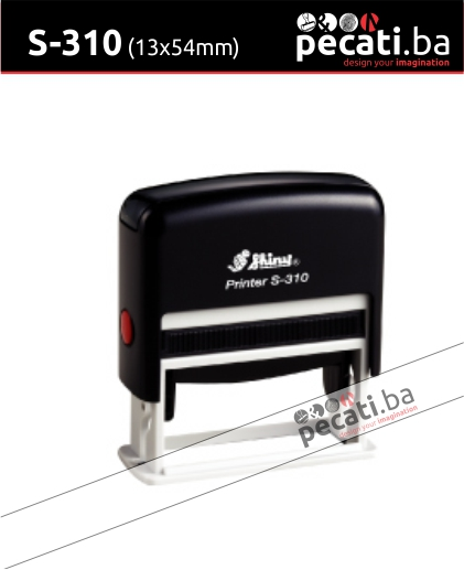 Pecat Shiny S-310 13x54 mm - Izgled pecata