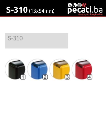 Pecat Shiny S-310 13x54 mm -dimenzija velicina dimension