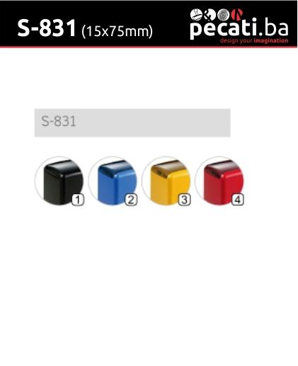 Pecat Shiny S-831 10x70 mm - dimenzija velicina dimension